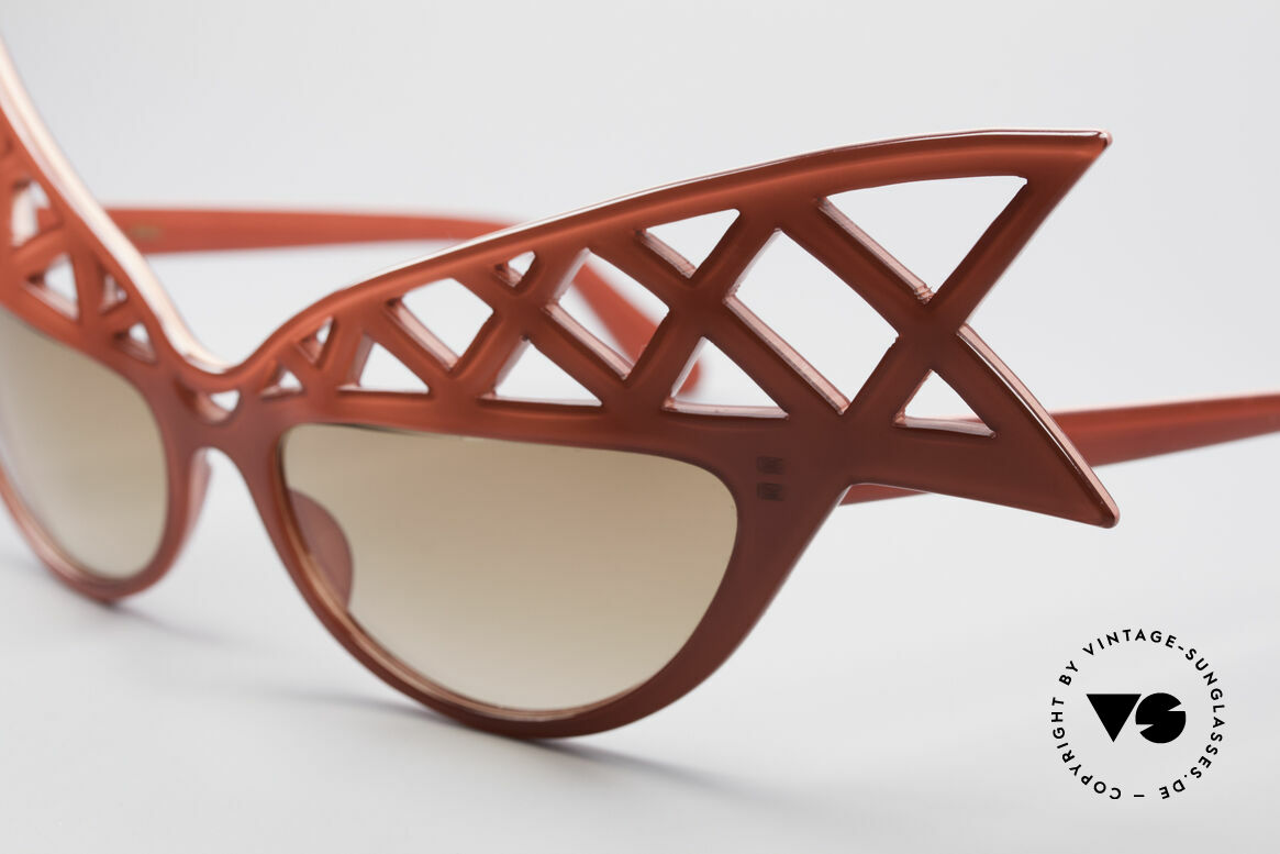 Alain Mikli WINGS Haute Couture Vintage Shades, specifically made for the 'Haute Couture' Shows; Paris, Made for Women