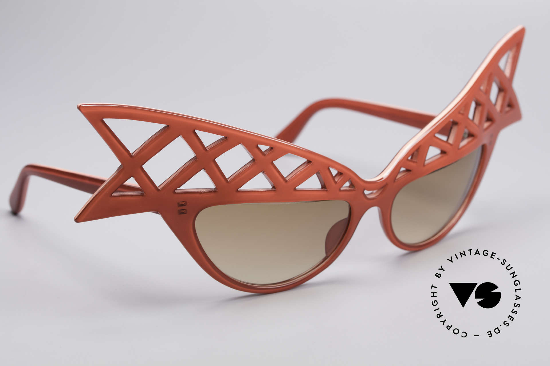 Alain Mikli WINGS Haute Couture Vintage Shades, one of a kind, collector's item (belongs in a museum), Made for Women