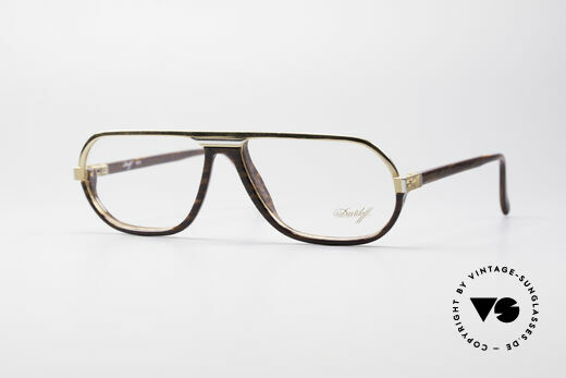Davidoff 300 Small Men's Vintage Glasses Details
