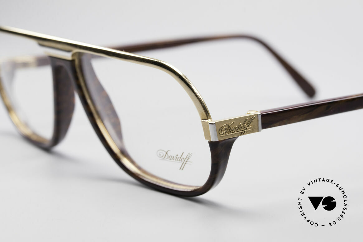 Davidoff 300 Small Men's Vintage Glasses, real gentleman eyeglasses: classy, elegant & very rare, Made for Men