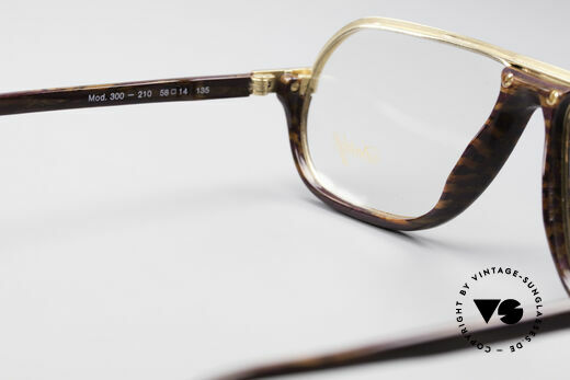Davidoff 300 Small Men's Vintage Glasses, this old original (size 58/14) can be glazed optionally, Made for Men