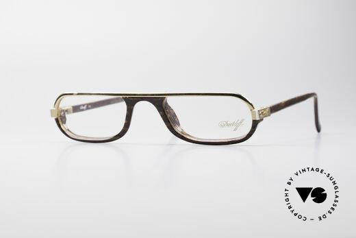 Davidoff 302 Rare Vintage Reading Glasses Details