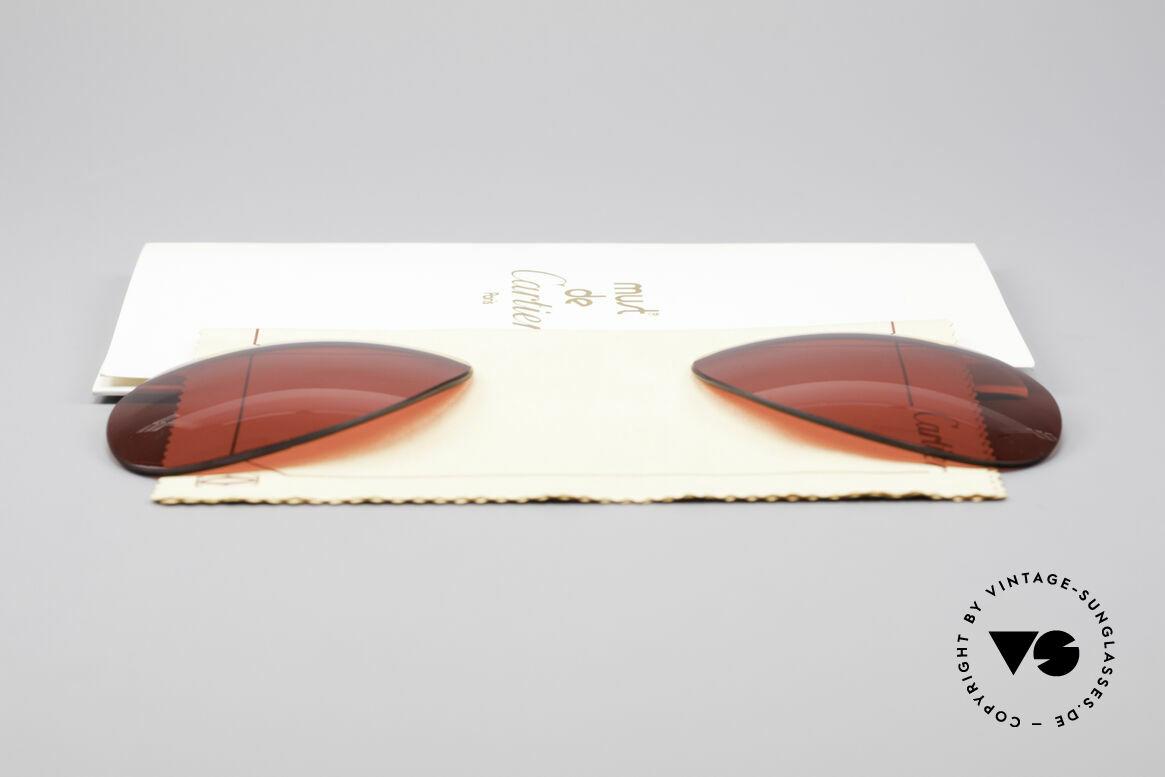 Cartier Vendome Lenses - L Sun Lenses 3D Red