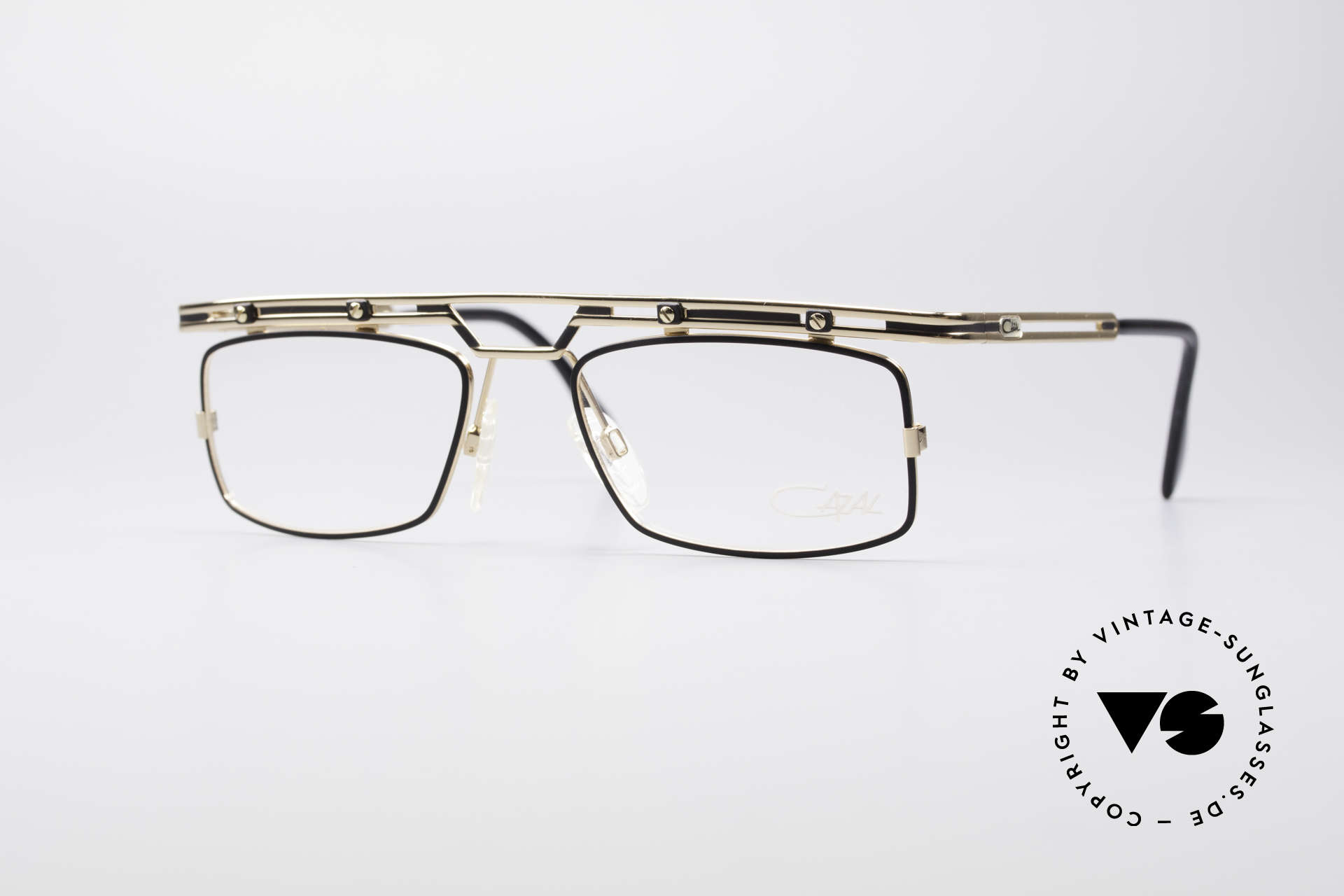 Cazal 975 Vintage 90's Designer Glasses, striking / square Cazal vintage glasses from 1996/97, Made for Men