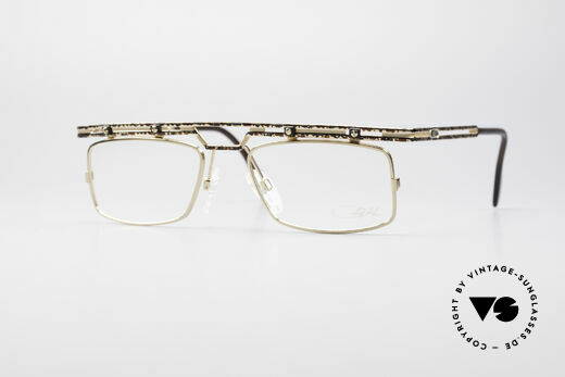 Cazal 975 True Vintage No Retro Glasses Details