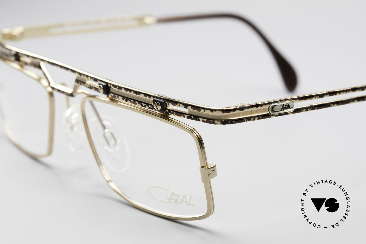 Cazal 975 True Vintage No Retro Glasses, tangible superior crafting quality (made in Germany), Made for Men