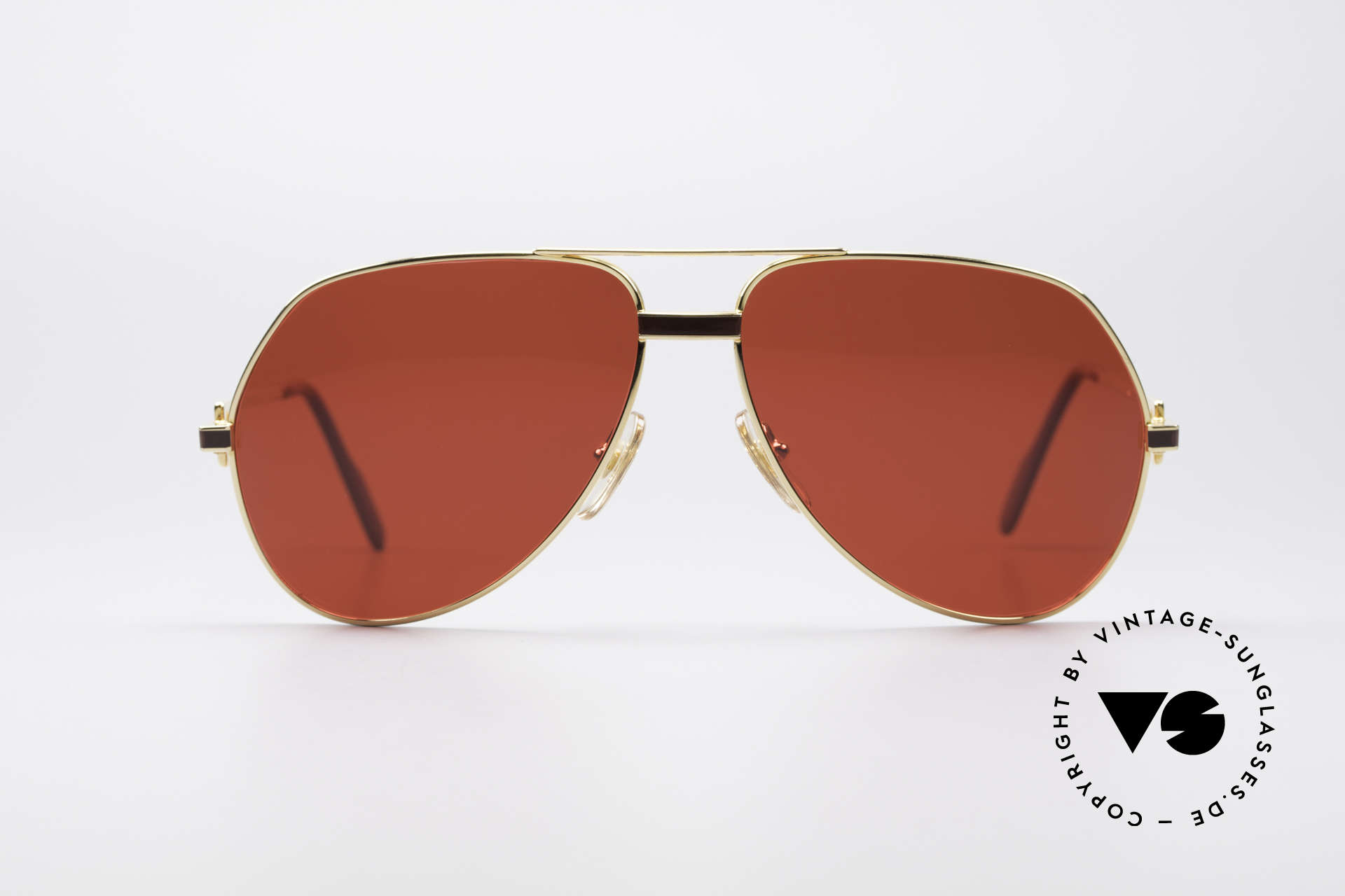"Cartier Vendome Laque - L Luxury 80's Aviator Shades, mod. ""Vendome"" was launched in 1983 & made till 1997, Made for Men"