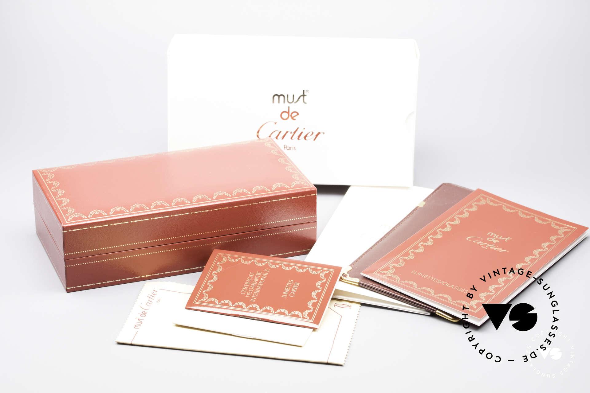Cartier Vendome Laque - L Luxury 80's Aviator Shades, NO retro sunglasses, but an authentic vintage ORIGINAL, Made for Men