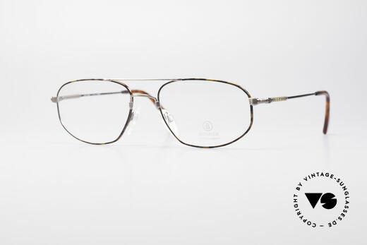Willy Bogner 7108 Titanflex Vintage Glasses Details
