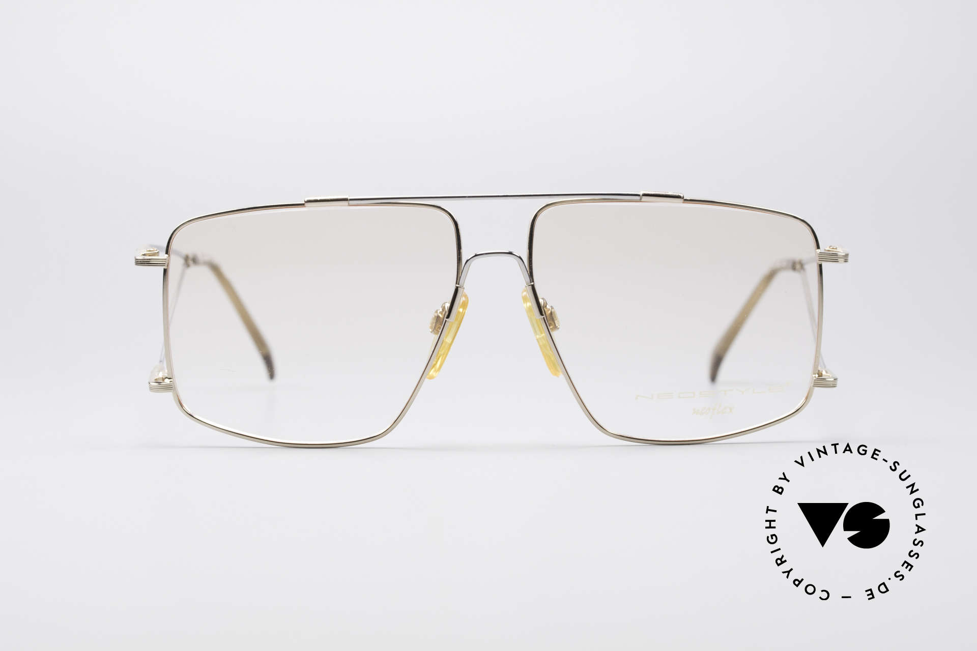 Neostyle Jet 40 Titanflex Vintage Glasses, incredible comfort thanks to TITANFLEX material!, Made for Men
