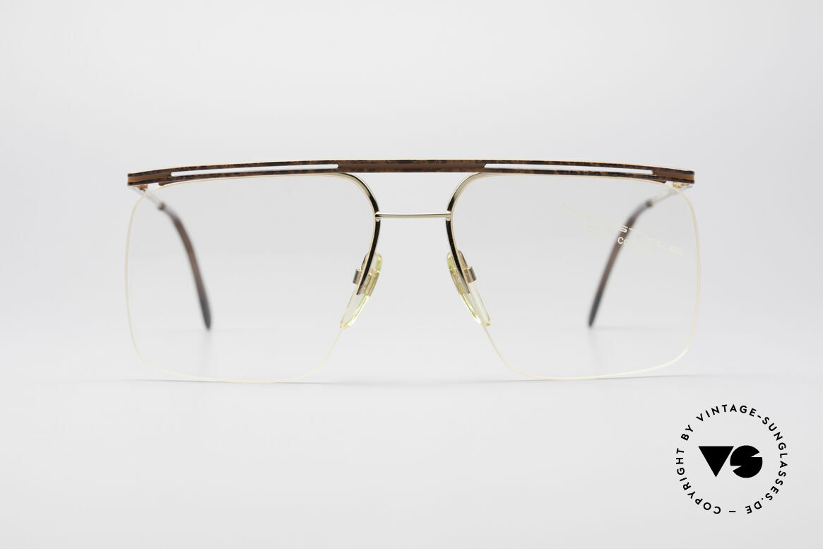 Neostyle Jet 12 True Vintage No Retro Glasses, remarkable vintage 80s eyeglasses by Neostyle, Made for Men