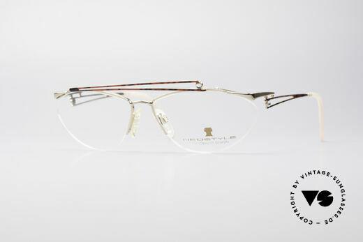Neostyle Jet 221 Vintage Gem Eyeglasses Details