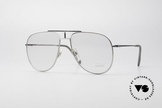 Jaguar 327 80's Vintage Men's Glasses Details