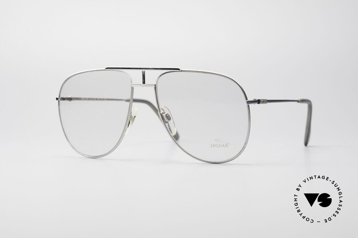Jaguar 327 80's Vintage Men's Glasses, glorious and sought after Jaguar eyeglass-frame, Made for Men