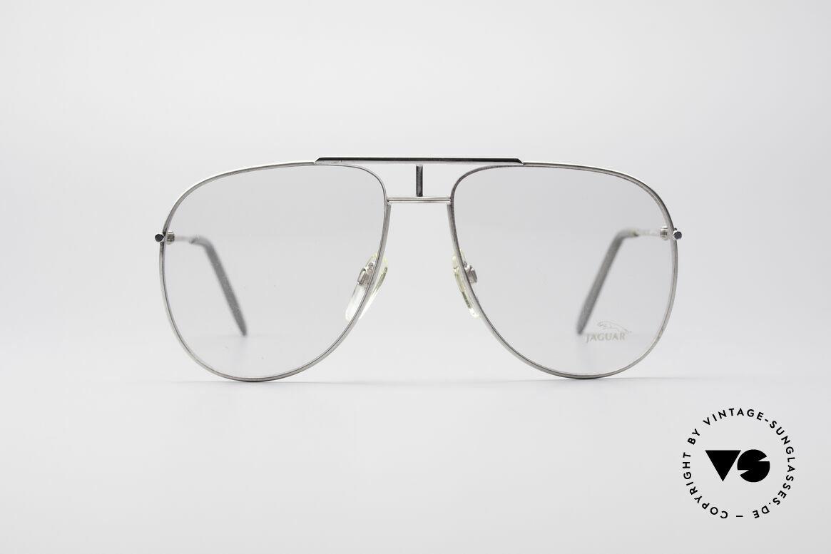Jaguar 327 80's Vintage Men's Glasses, light alloy metal frame for best wearing comfort, Made for Men