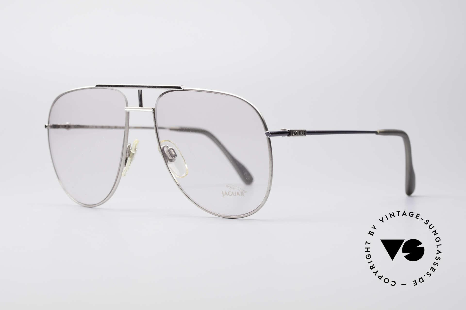 "Jaguar 327 80's Vintage Men's Glasses, distinctive interpretation of the ""aviator style"", Made for Men"