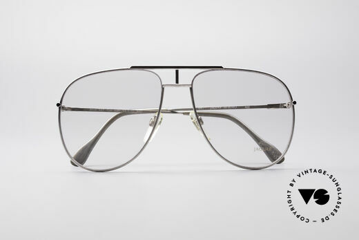 Jaguar 327 80's Vintage Men's Glasses, demo lenses can be replaced with optical lenses, Made for Men