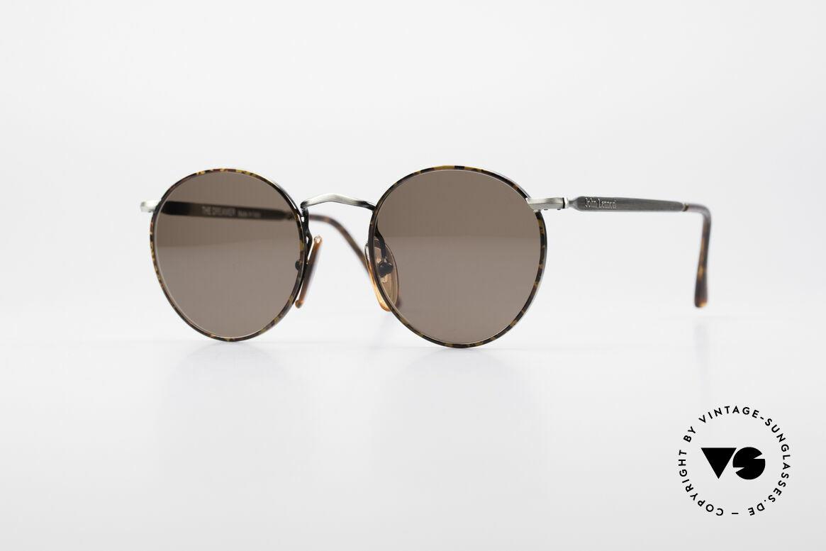 John Lennon - The Dreamer Small Round Vintage Shades
