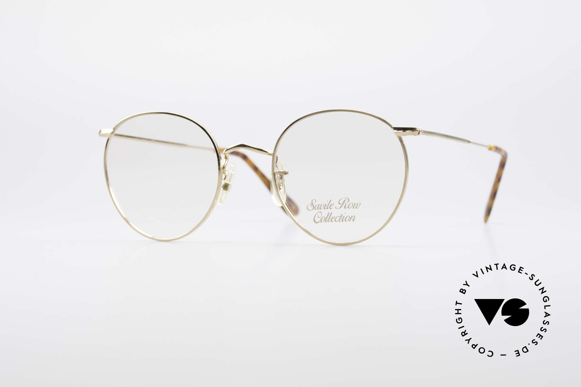 Savile Row Panto 49/20 John Lennon Vintage Glasses, 'The Savile Row Collection' by ALGHA, UK Optical, Made for Men