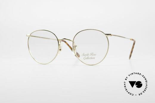 Savile Row Panto 49/20 John Lennon Vintage Glasses Details