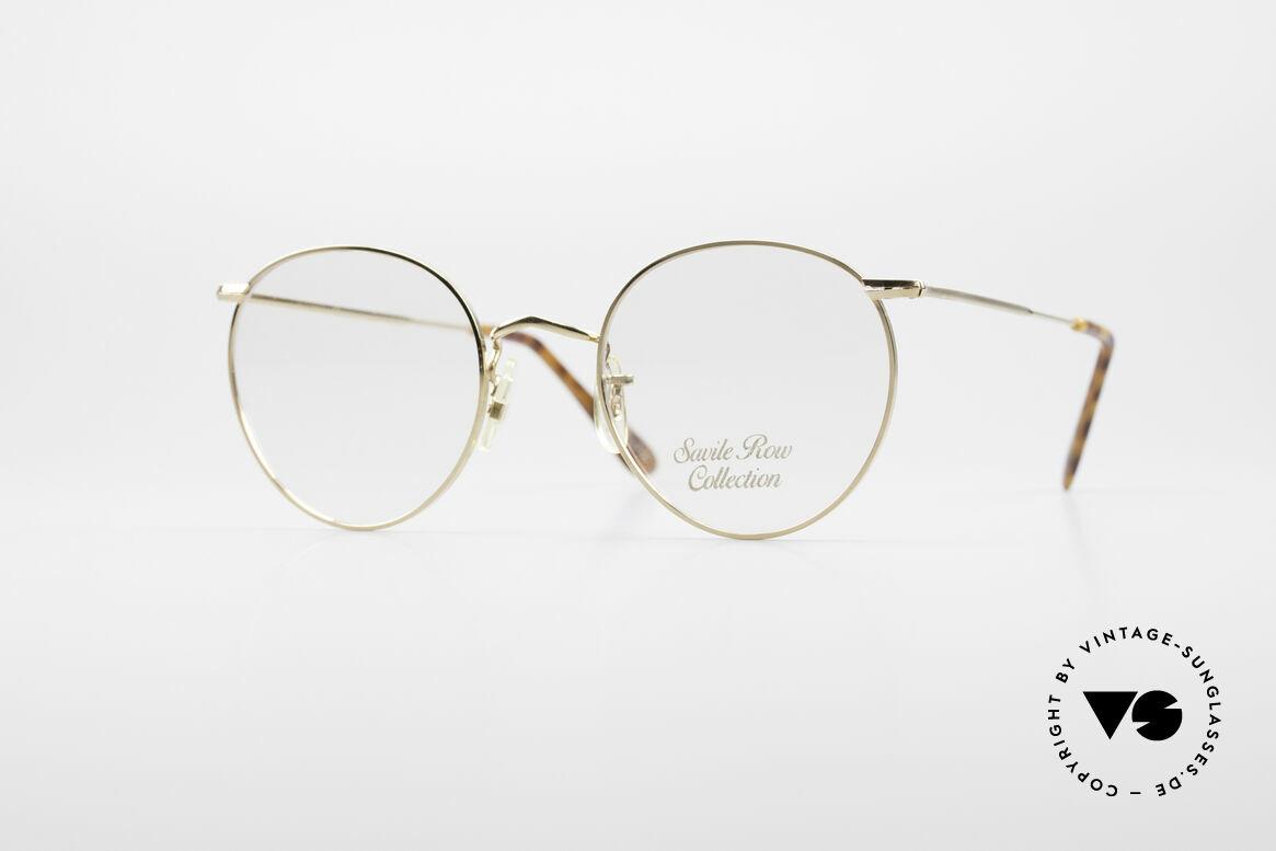 Savile Row Panto 49/20 John Lennon Vintage Glasses