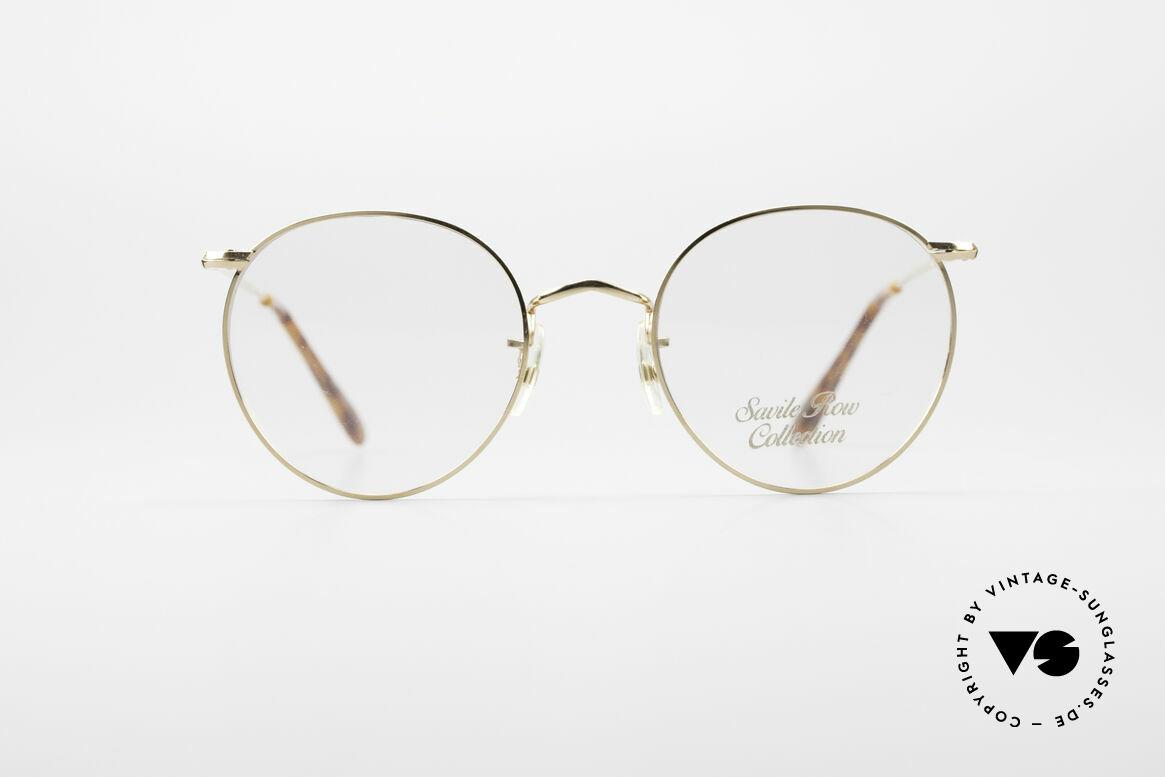 Savile Row Panto 49/20 John Lennon Vintage Glasses, 'The Savile Row Collection' by ALGHA, UK Optical, Made for Men