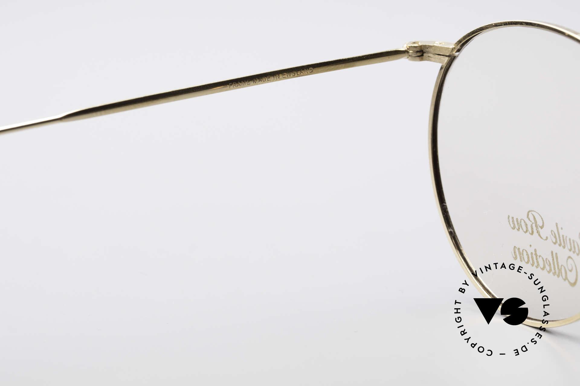 Savile Row Panto 49/20 John Lennon Vintage Glasses, NO retro specs, but a min. 35 years old ORIGINAL, Made for Men