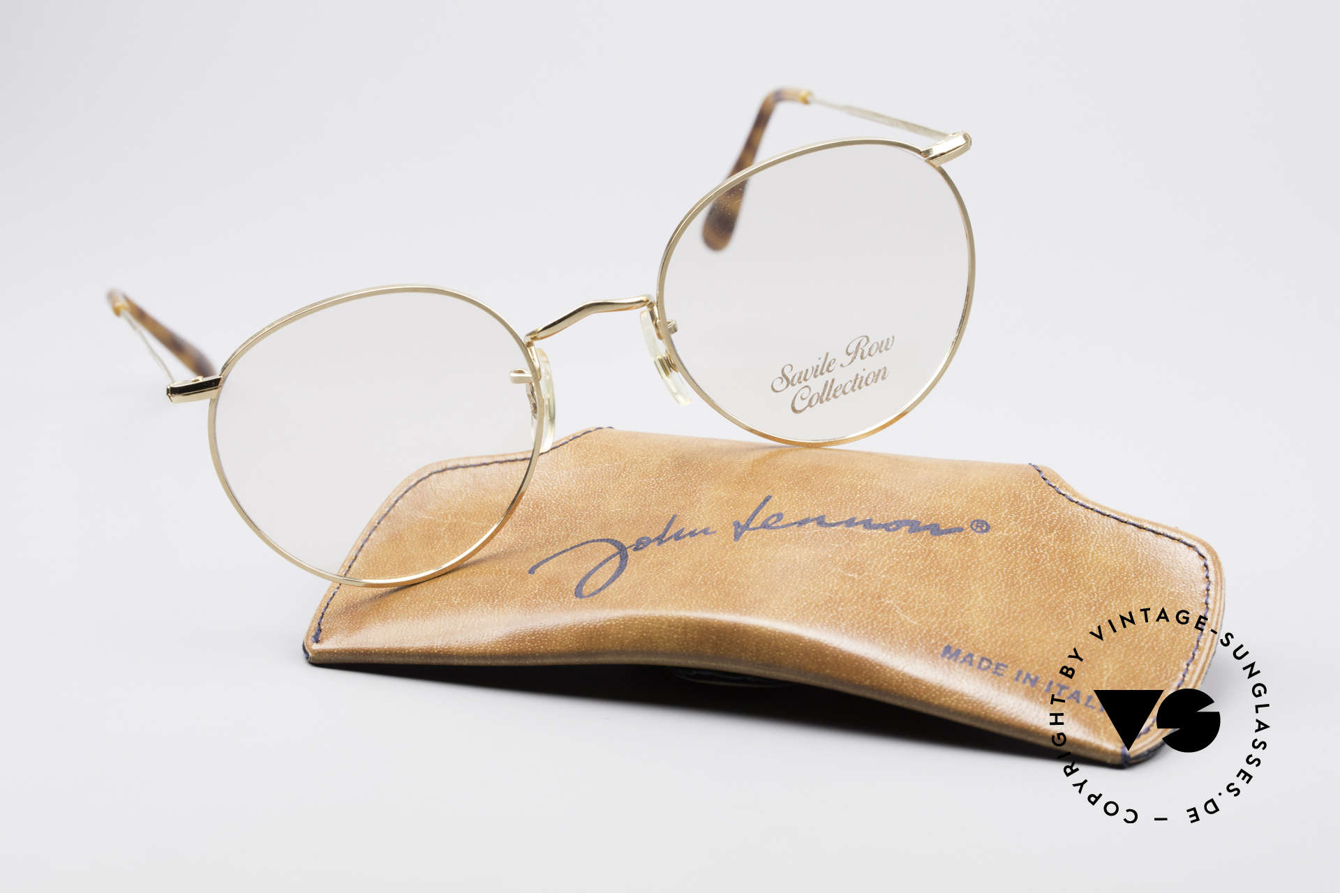Savile Row Panto 49/20 John Lennon Vintage Glasses, Size: small, Made for Men