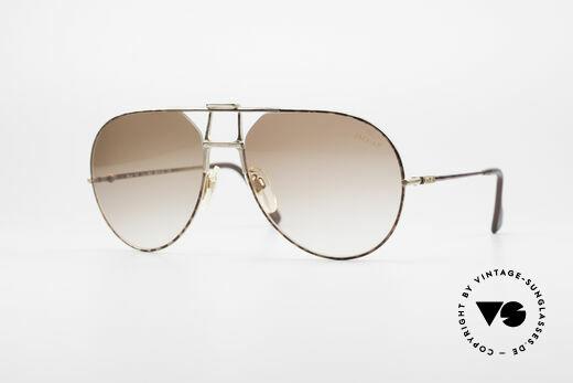 Jaguar 707 80's Luxury Sunglasses Details