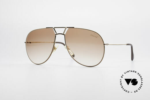 Jaguar 795 Vintage Men's Sunglasses Details
