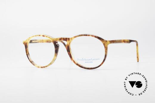 Ralph Lauren 64 Men's Panto Eyeglasses Details