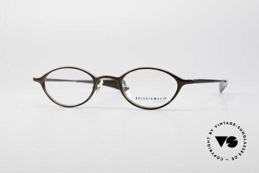 404e56ab10 Freudenhaus Zoe Oval Titan Vintage Glasses Details
