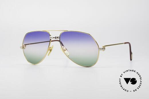 Cartier Vendome Santos - M Rare Luxury Shades Details