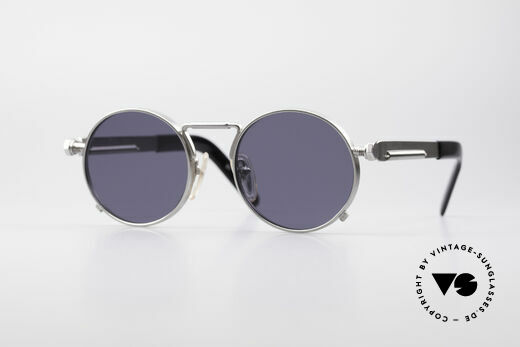 Jean Paul Gaultier 56-8171 Steampunk Vintage Glasses Details