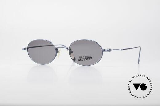 Jean Paul Gaultier 55-8106 Oval Designer Sunglasses Details