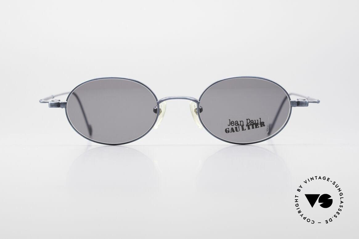 Jean Paul Gaultier 55-8106 Oval Designer Sunglasses