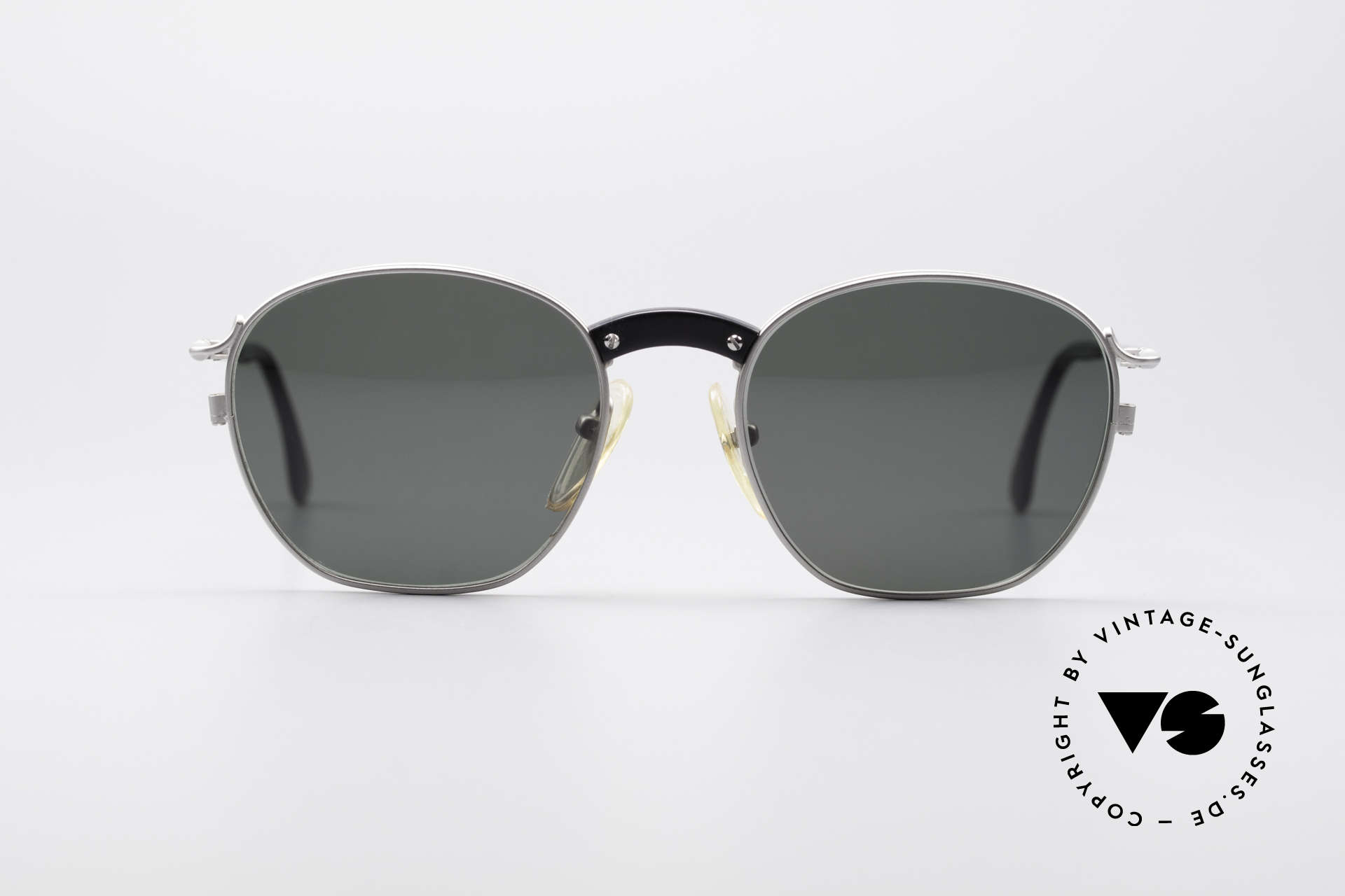 Jean Paul Gaultier 55-1271 Rare Vintage Sunglasses, lightweight (titan) frame and very pleasant to wear, Made for Men and Women