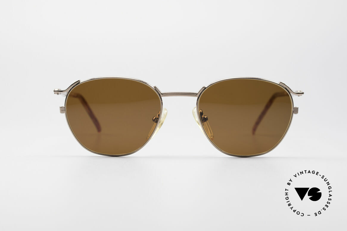 Jean Paul Gaultier 57-2276 True Vintage 90's Shades, timeless vintage sunglasses; sober and elegant, Made for Men and Women