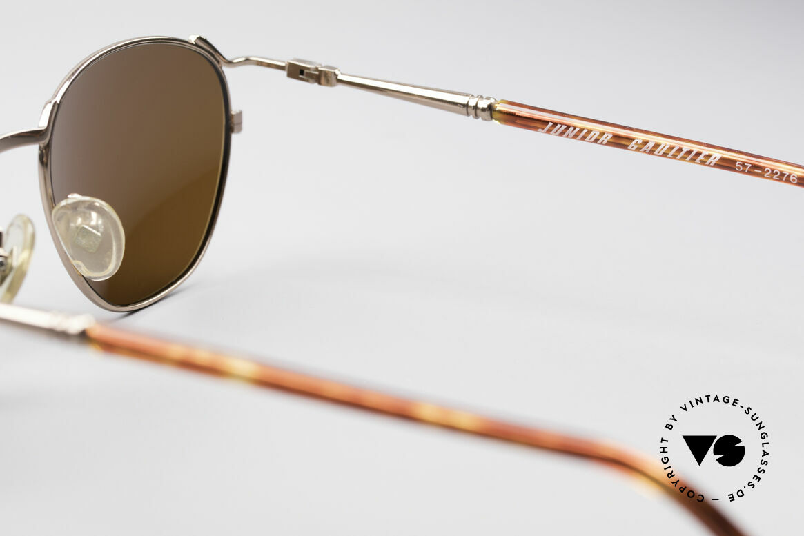 Jean Paul Gaultier 57-2276 True Vintage 90's Shades, NO retro sunglasses but an old 1990's ORIGINAL, Made for Men and Women