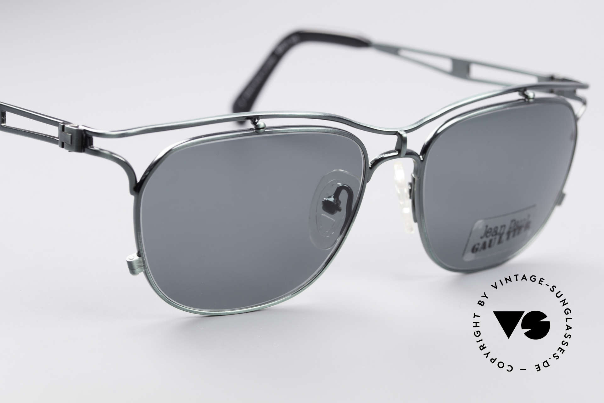 Jean Paul Gaultier 55-2178 Top Quality Vintage Frame, NO RETRO SHADES, but a rare old 1990's ORIGINAL, Made for Men and Women