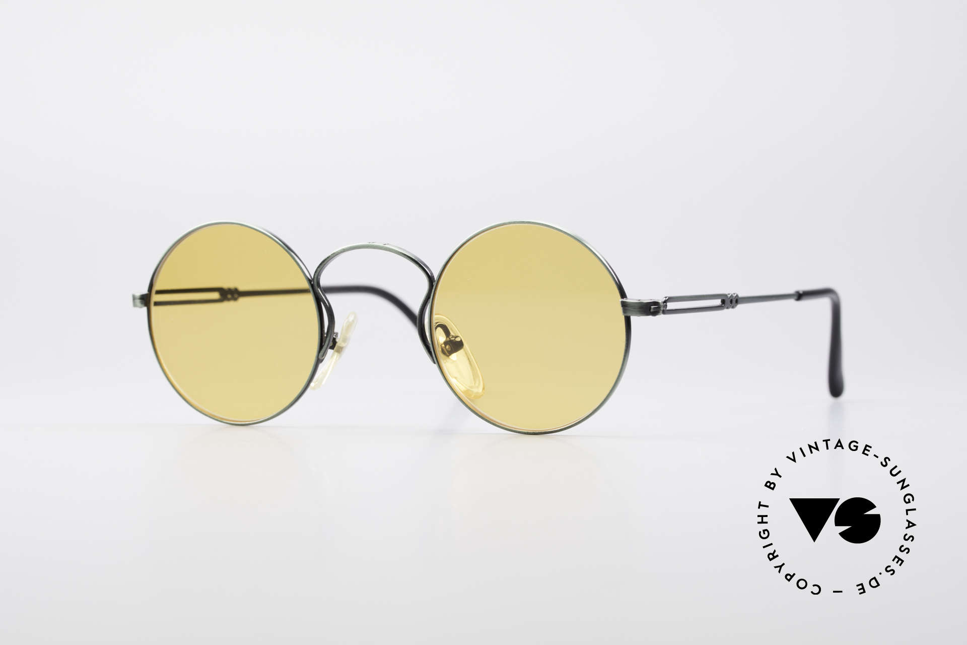 Jean Paul Gaultier 55-0172 Round Vintage Glasses JPG, designer sunglasses by Jean Paul Gaultier from 1994, Made for Men and Women
