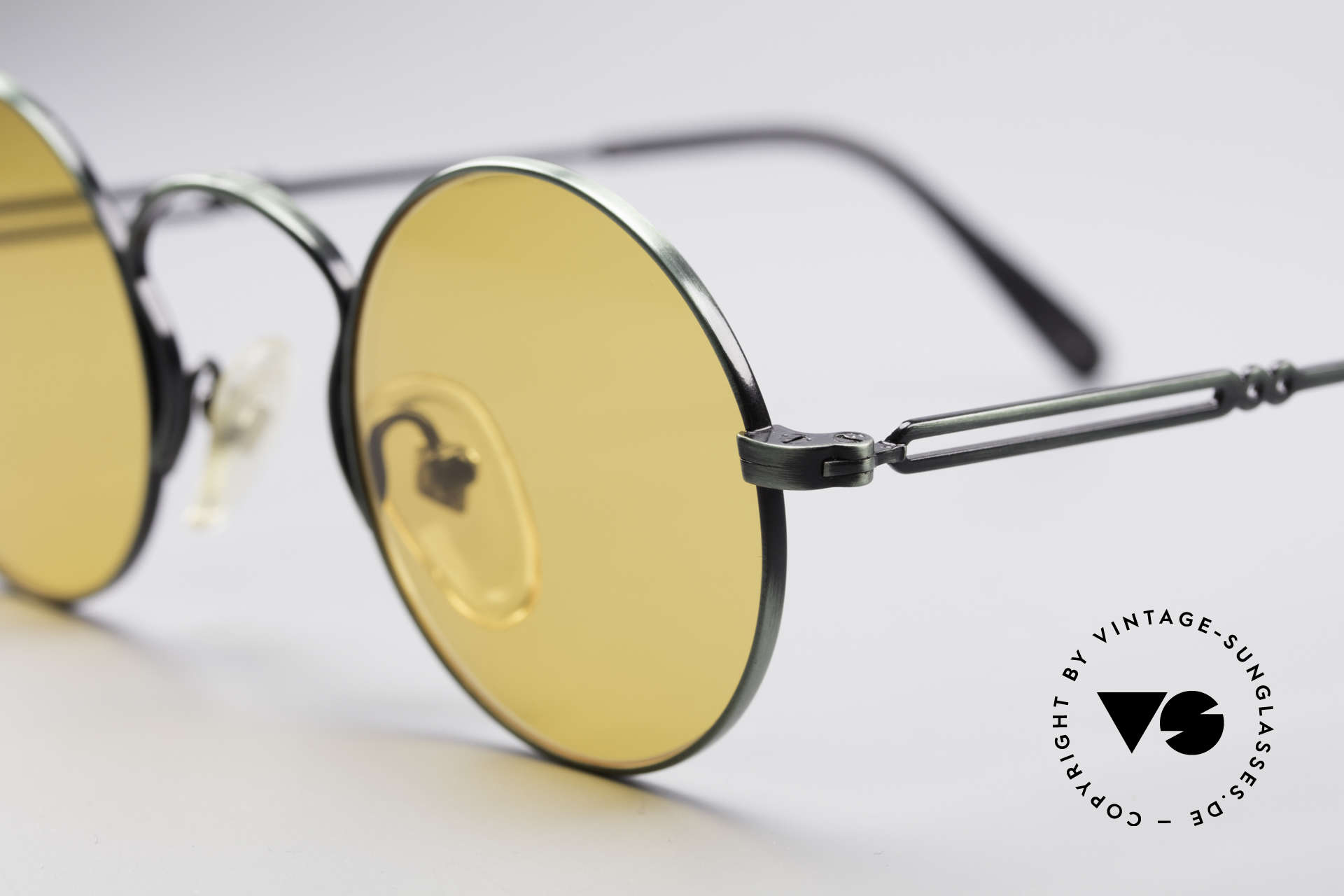Jean Paul Gaultier 55-0172 Round Vintage Glasses JPG, new old stock (like all our rare vintage sunglasses), Made for Men and Women