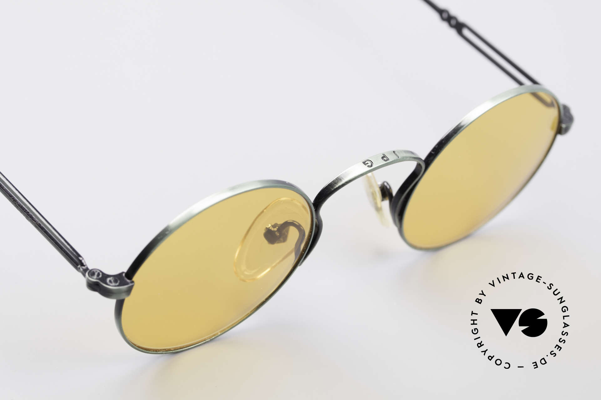 Jean Paul Gaultier 55-0172 Round Vintage Glasses JPG, NO RETRO shades, but an old J.P. Gaultier original, Made for Men and Women