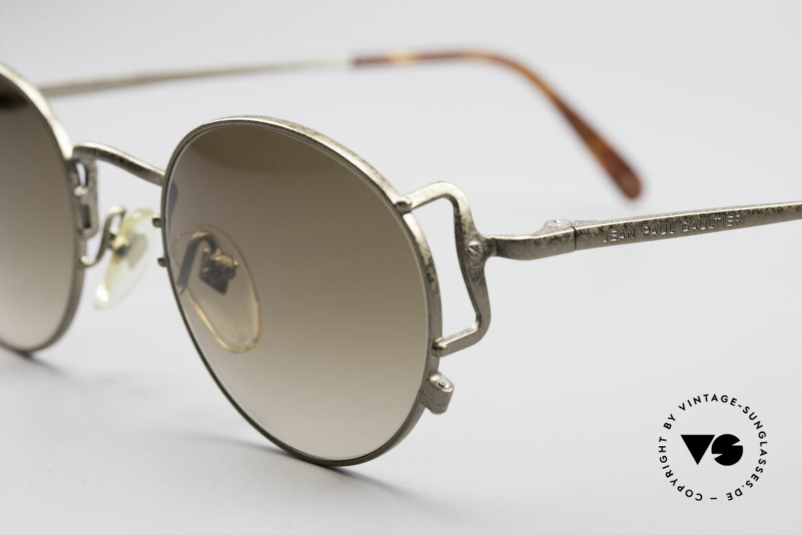 Jean Paul Gaultier 55-3178 90's Vintage No Retro Specs, unworn (like all our old 1990's designer glasses), Made for Men and Women