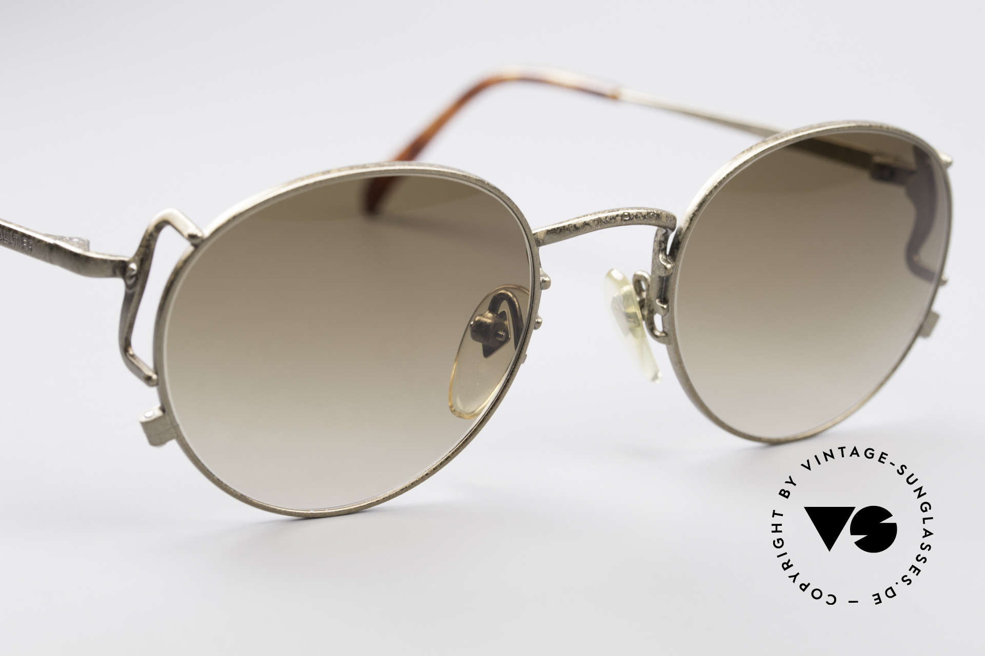 Jean Paul Gaultier 55-3178 90's Vintage No Retro Specs, NO retro sunglasses, but a 25 years old original, Made for Men and Women