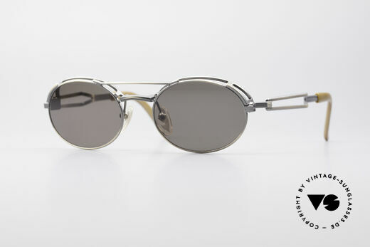 Jean Paul Gaultier 56-7107 Industrial Vintage Frame Details