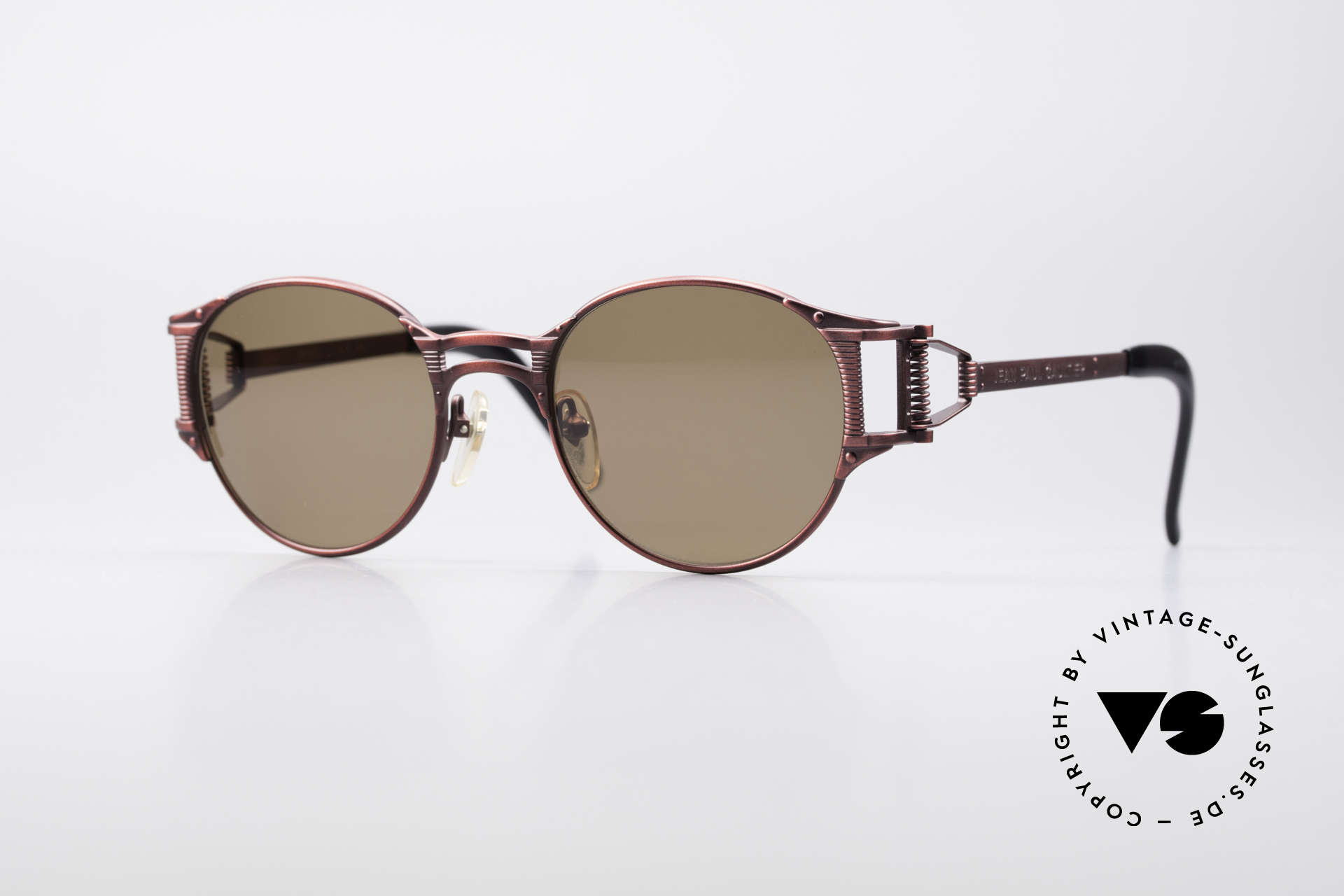 Jean Paul Gaultier 56-5105 Rare Celebrity Sunglasses, unique 'Haute Couture' shades by Jean Paul Gaultier, Made for Men and Women