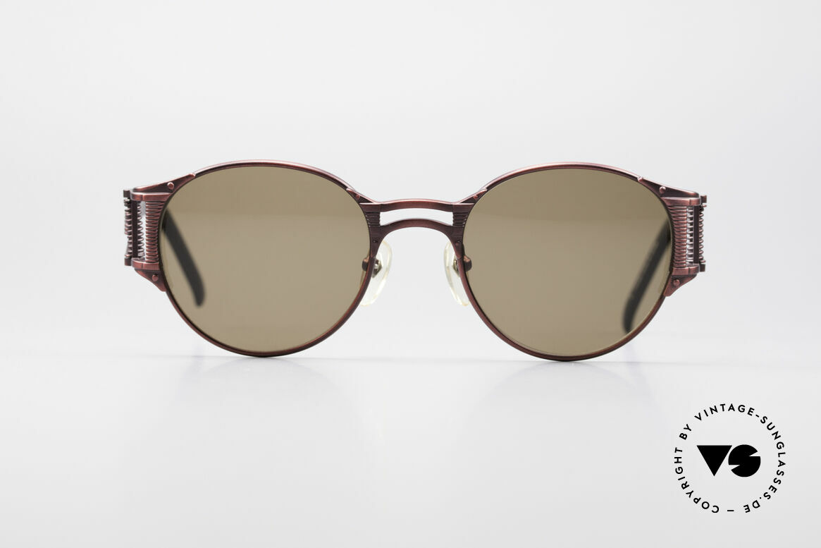 Jean Paul Gaultier 56-5105 Rare Celebrity Sunglasses, high-end frame with many interesting design details, Made for Men and Women
