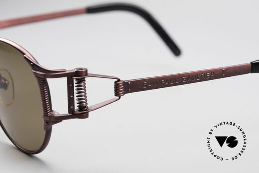Jean Paul Gaultier 56-5105 Rare Celebrity Sunglasses, NO RETRO sunglasses, but a rare 25 years old original, Made for Men and Women