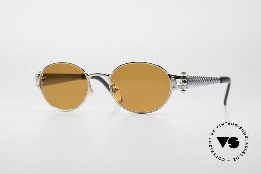 Jean Paul Gaultier 56-6104 Oval Designer Sunglasses Details